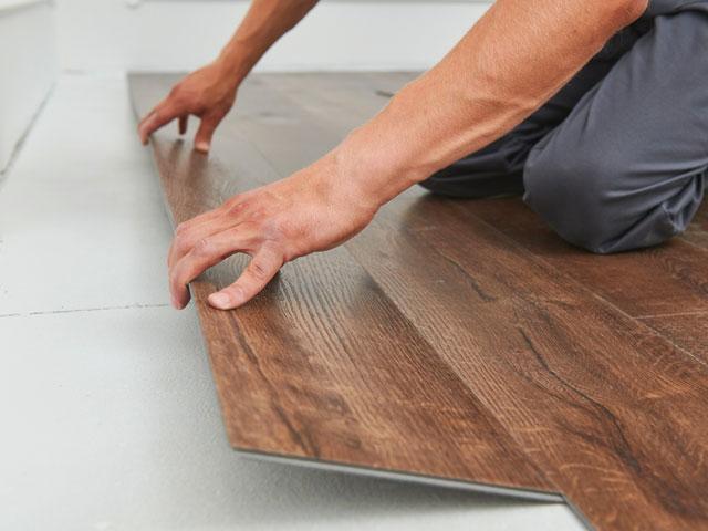 Dental practice flooring design and installation