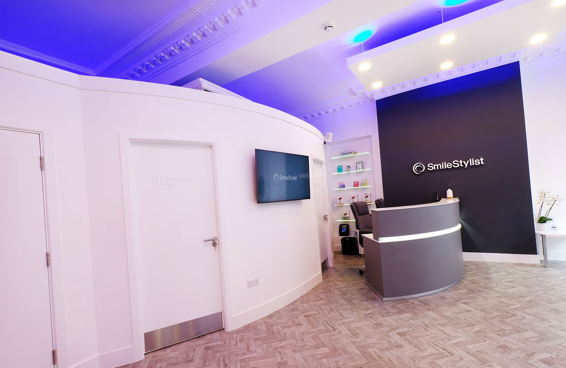 SmileStylist Dental Practice Reception fit out